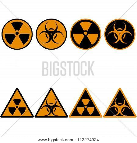Radiation Set Icons