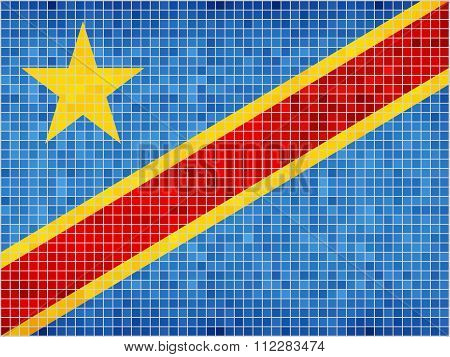 Flag Of The Democratic Republic Of The Congo.eps