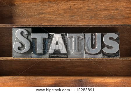 Status Word Tray