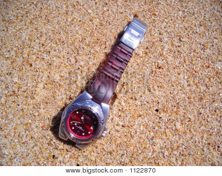 Red Watch On The Sand