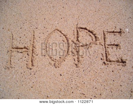 Hope Written On Sand