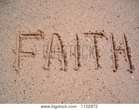 Faith Written On Sand