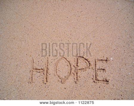 Hope Written On Sand