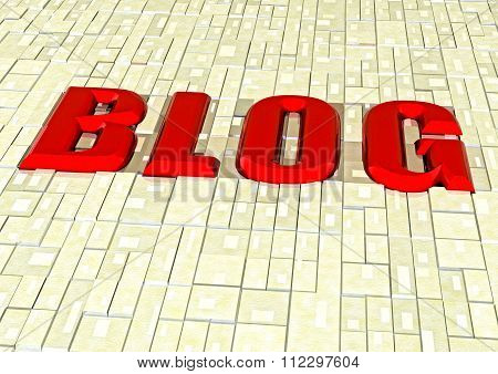 Three-dimensional inscription Blog