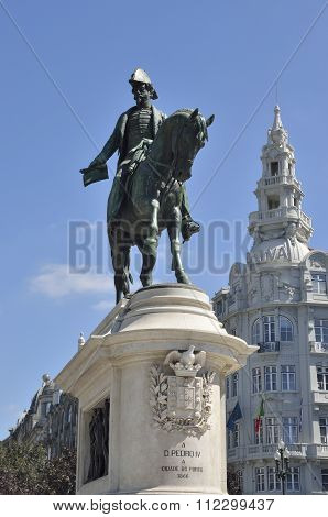 Memorial Portuguese King Monument