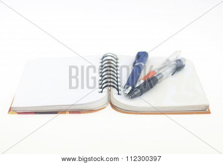 Notebooks Pens Record