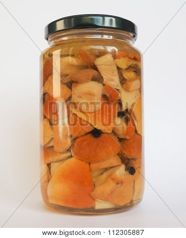 Porcini Mushroom Jar