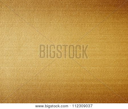 Linen Abstract Textured Gold Background