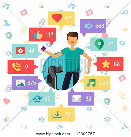 Web Virtual Social Network