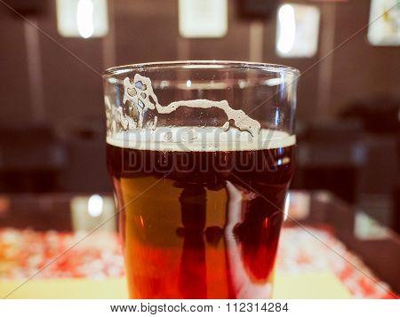 Retro Look Ale Beer