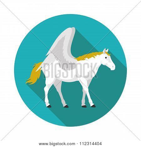 Flat  Icons Pegasus