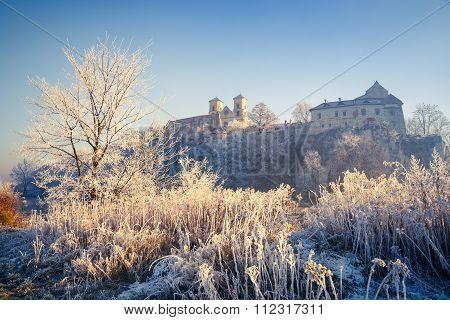 Benedictine Abbey In Tyniec, Cracow, Poland