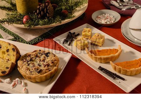 holiday dessert buffet