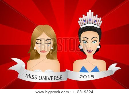 Miss Universe 2015 Contest. Wrong Winner.