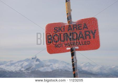Ski Area Boundary
