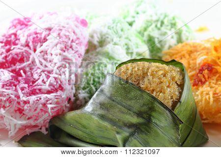 Assortment Of Traditional Malay Kuih