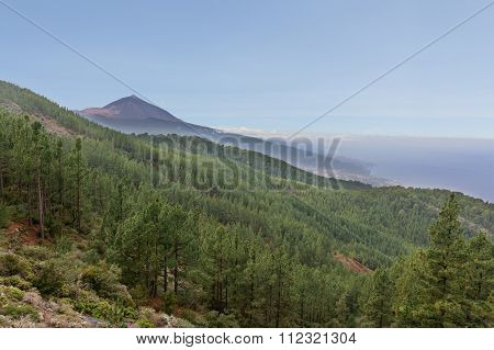 Nature Landscape, Mountain Summit View