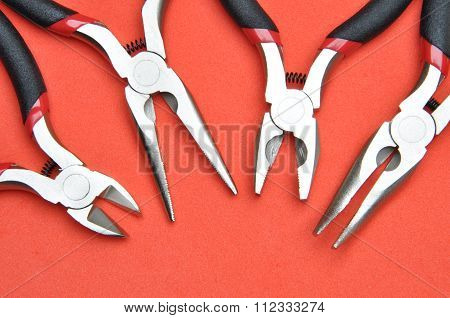 Cutters, pliers and nippers
