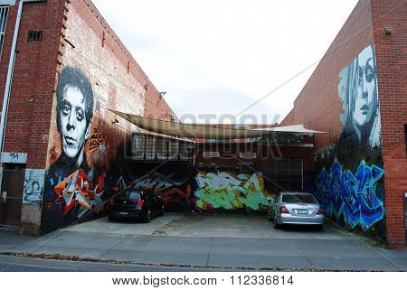 Street art in Richmond, a suburb of Melbourne, Australia