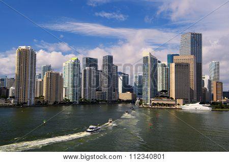 Sunny Miami View