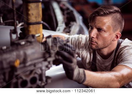 Hard Working Mechanic