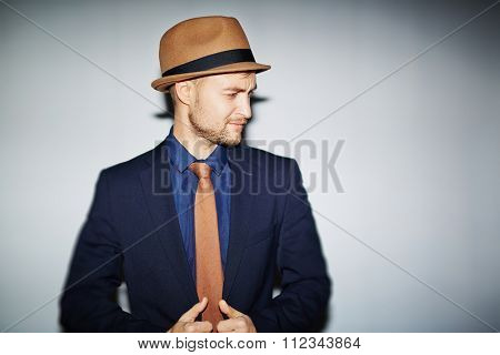 Stylish young man in formal-wear