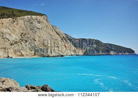 Blue Waters of Porto Katsiki Beach, Lefkada