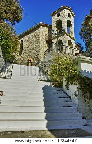Old orthodox church in Vasiliki village, Lefkada