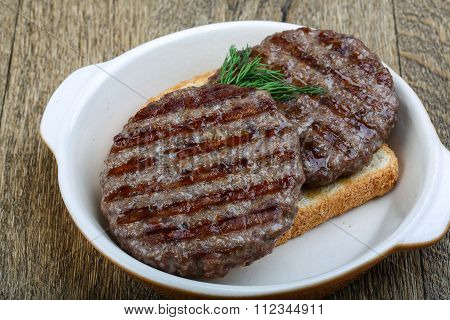 Grilled Burger Cutlet