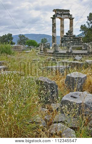 Athena Pronaia Sanctuary at Delphi,