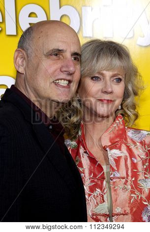 Jeffrey Tambor and Blythe Danner at the Los Angeles Premiere of