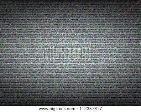 TV noise seamless vector texture. No signal and error concept
