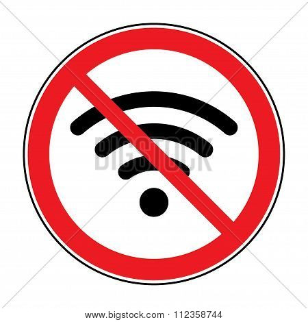 No Free Wi-fi Icon
