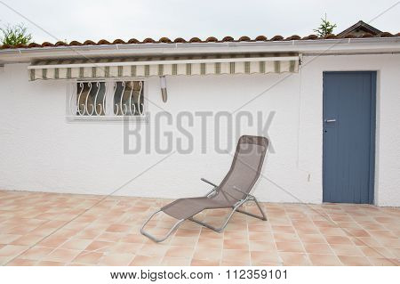 Terrace With Deck Chairs