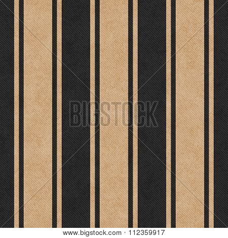 Beige And Black Striped Tile Pattern Repeat Background
