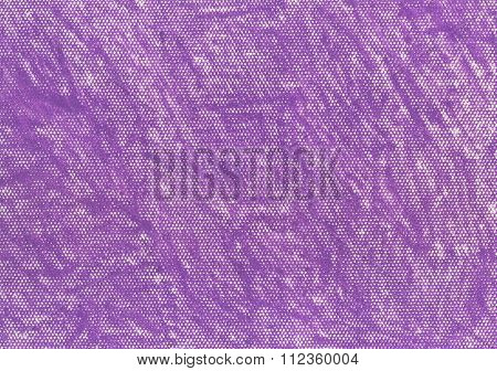 Hand painted purple pastel crayon texture.