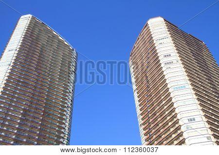 high rise condominium in Musashikosugi, Kanagawa, Japan
