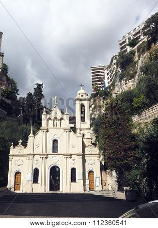 Saint Devote Church Cathedral Monte Carlo Monaco Europe