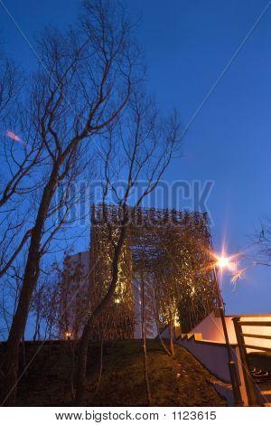 Moscow. Vladikino. Architectonic Composition On Altufyevo High-Road