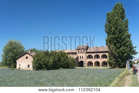 Old Farmhouse Near Pavia (italy)