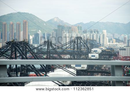 Defocus Hong Kong International Terminal Harbour