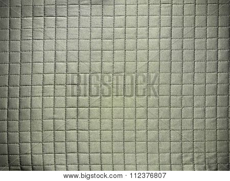 fabric texture with checkered seams
