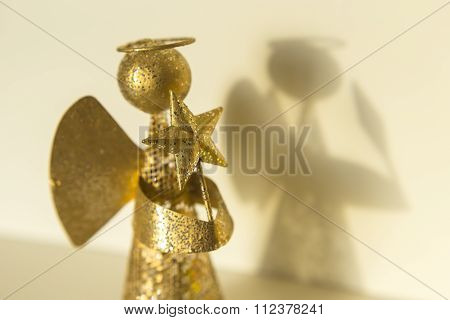 Angel With Star In The Hands