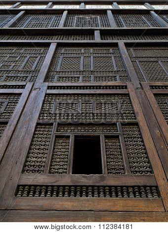 Mashrabiya Facade, Cairo, Egypt