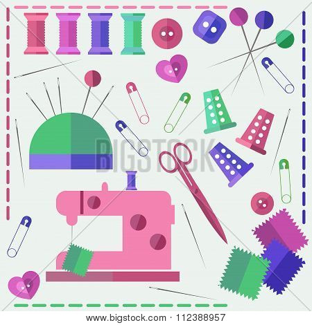 Sew vector set