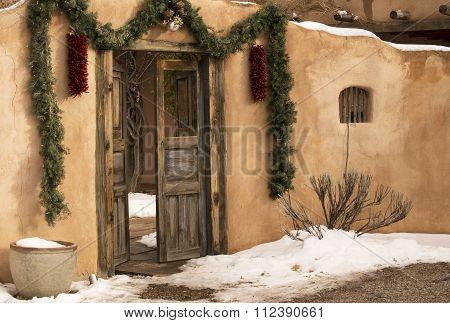 Santa Fe Entryway