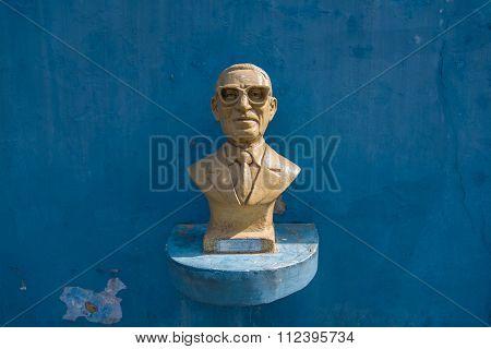 Bust Of Gabino Coria Penaloza