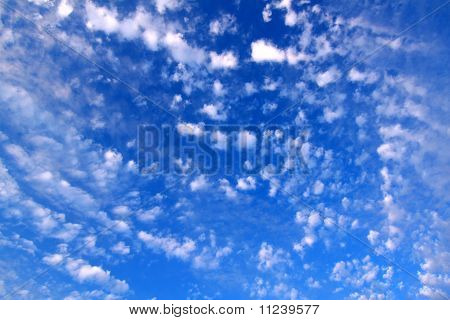 Partly Cloudy Background
