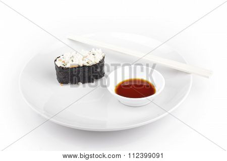Shushi Served In With Souce