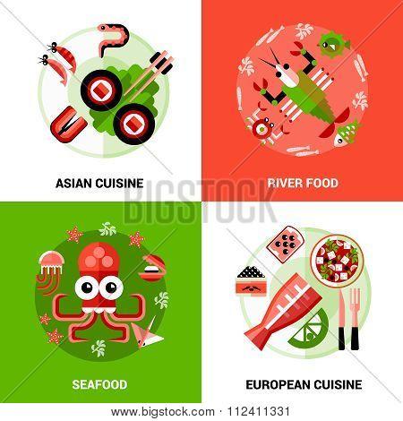 Seafood Design Concept